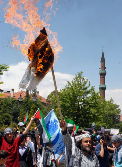 İsraile büyük protesto galerisi resim 1