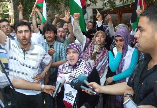 İsraile büyük protesto galerisi resim 11