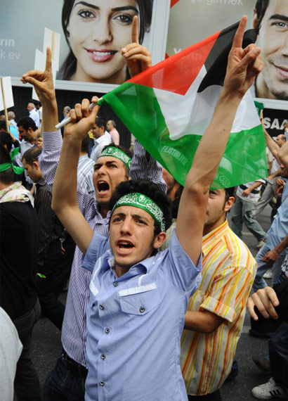 İsraile büyük protesto galerisi resim 13