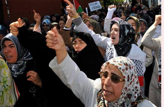 İsraile büyük protesto galerisi resim 2