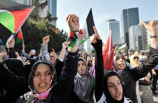 İsraile büyük protesto galerisi resim 3