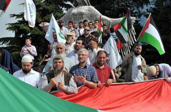 İsraile büyük protesto galerisi resim 4