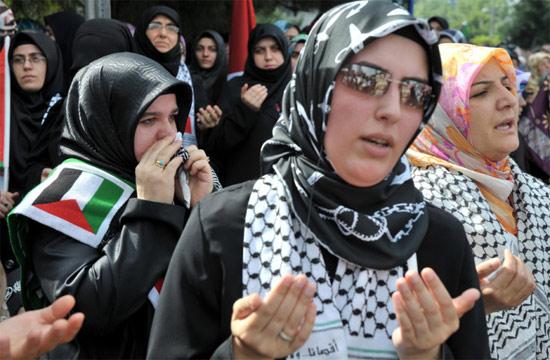 İsraile büyük protesto galerisi resim 5