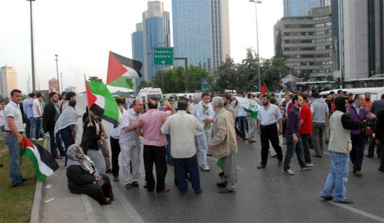 İsraile büyük protesto galerisi resim 6