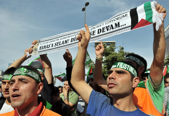 İsraile büyük protesto galerisi resim 7