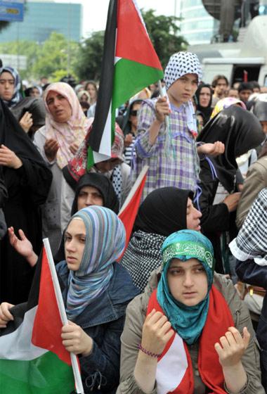 İsraile büyük protesto galerisi resim 8