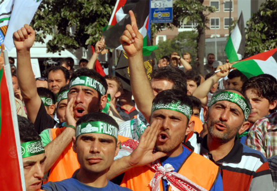 İsraile büyük protesto galerisi resim 9