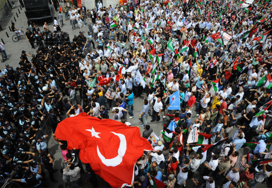 İsraile büyük protesto