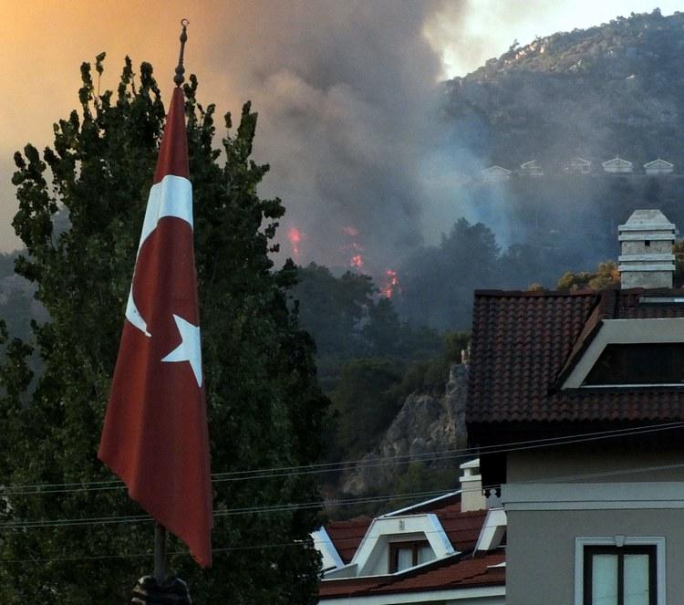 Marmaris Orman Yangını galerisi resim 2