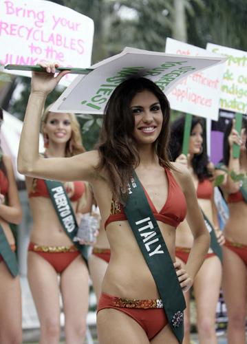 Karşınızda Miss Earth adayları galerisi resim 4