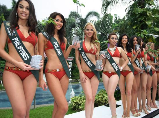 Karşınızda Miss Earth adayları