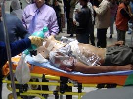 Sansunda Kaza: 10 Yaralı