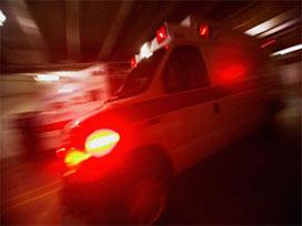 Askeri araç kaza yaptı: 16 yaralı