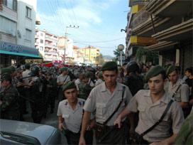 Balıkesirde PKKya karşı yürüdüler