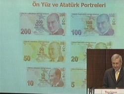 İşte yeni Türk lirası