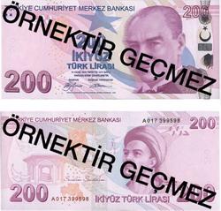 İşte yeni banknotlar