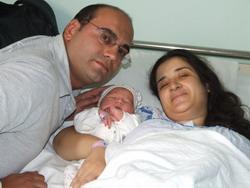 Hoş geldin Elif bebek