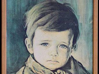 Ağlayan çocuk lanetli mi?