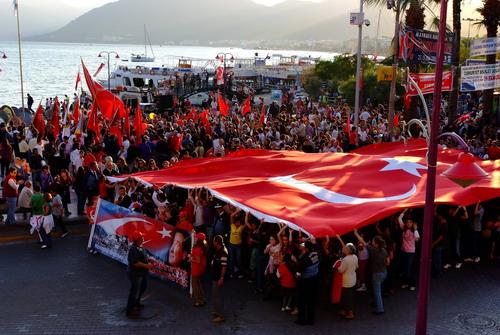 """""""Cumhuriyet bayrağı Her zaman dalgalanacak"""""""