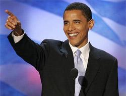 Obama ilk potunu kırdı