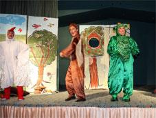 Çocuklara tiyatro keyfi