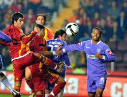 Galatasaray maçında büyük hata