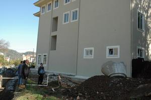 Armutalan Sağlık Ocağı inşaatında sona gelindi