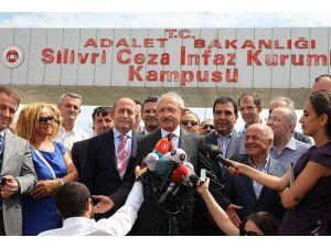 Kılıçdaroğludan cezaevindeki İlker Başbuğa ziyaret