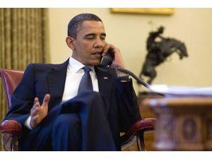 Obama Hollande ile görüştü