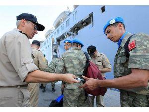 UNIFILde görevli Türk bölüğü Lübnandan ayrıldı