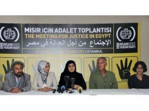 """""""Mısır İçin Adalet"""" Toplantısı sona erdi"""