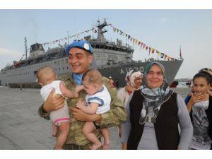 Lübnandan ayrılan Türk bölüğü yurda döndü
