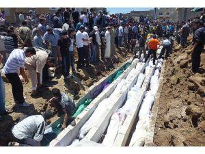 Suriyede ölenlerin sayısı 100 bini aştı