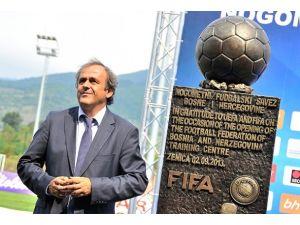 UEFA Başkanı Bosna Hersekte