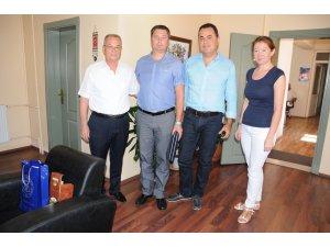 Beyaz Rusya Minsk Eyaleti Emniyet Müdürü Başkan Ünlüyü Ziyaret Etti