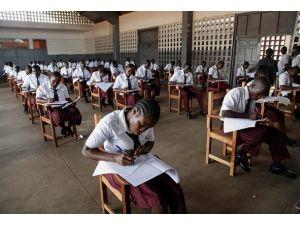 Liberyada sınav şoku