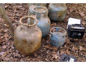 Bingölde bomba yüklü araç yakalandı