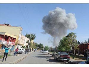 Türkiye-Suriye sınırı yakınında mühimmat patlaması