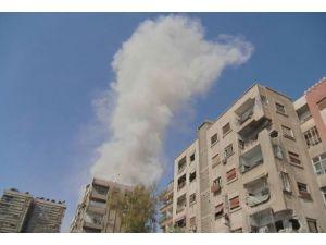 Esed Şamın banliyölerini bombaladı
