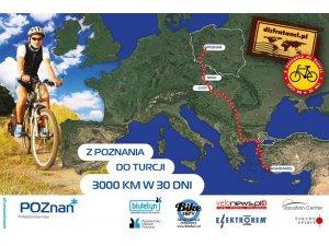 Polonyadan Marmarise Bisikletle Geliyor