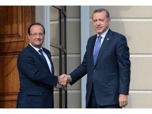 Türkiye ile Fransa Suriye konusunda hemfikir