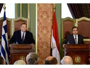 Yunanistandan Mısır yönetiminine destek
