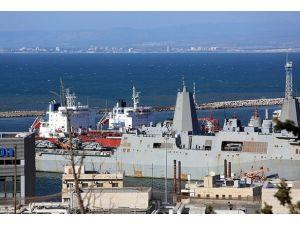 ABD savaş gemisi İsrailde