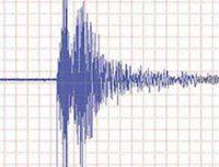 Egede şiddetli deprem