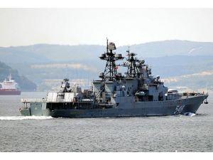 3 Rus gemisi Çanakkale Boğazından geçti