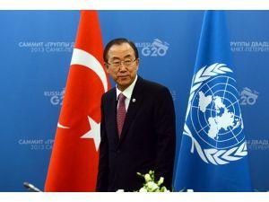 BM heyetinin incelemelerine ilişkin Erdoğanı bilgilendirdi