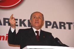 MHP Lideri Bahçeli Konyada