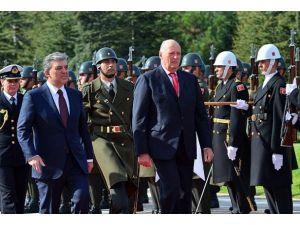 Norveç Kralı 5. Harald Ankarada
