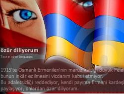 Ermeniler de bizden özür diliyor!