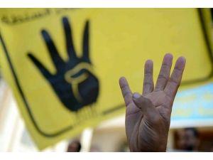 Mısır Anayasa Mahkemesi sitesine Rabia işareti